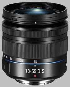 image of the Samsung 18-55mm f/3.5-5.6 OIS III NX lens