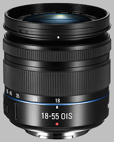 image of the Samsung 18-55mm f/3.5-5.6 OIS III NX lens