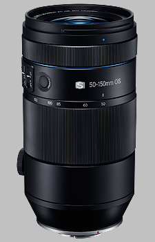 image of the Samsung 50-150mm f/2.8 S OIS NX lens