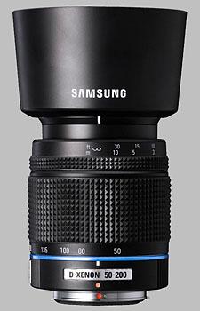 image of the Samsung 50-200mm f/4-5.6 ED Schneider D-XENON lens