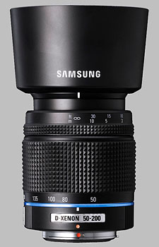 image of the Samsung 50-200mm f/4-5.6 ED Schneider D-XENON lens