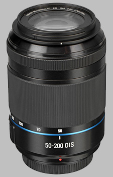 image of the Samsung 50-200mm f/4-5.6 ED OIS III NX lens