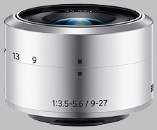 image of the Samsung 9-27mm f/3.5-5.6 ED OIS NX-M lens