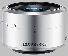 image of the Samsung 9-27mm f/3.5-5.6 ED OIS NX-M lens