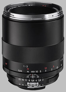 image of the Carl Zeiss 100mm f/2 Makro-Planar T* 2/100 lens
