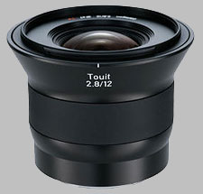 image of the Zeiss 12mm f/2.8 Touit 2.8/12 lens