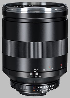 image of the Carl Zeiss 135mm f/2 Apo Sonnar T* 2/135 lens