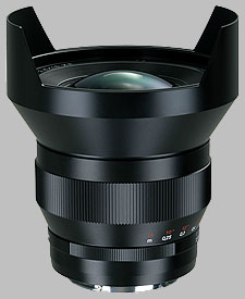 image of the Carl Zeiss 15mm f/2.8 Distagon T* 2.8/15 lens