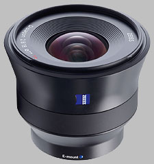 image of the Zeiss 18mm f/2.8 Batis 2.8/18 lens