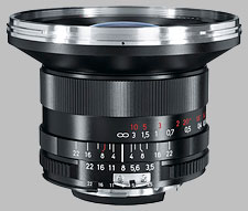 image of the Carl Zeiss 18mm f/3.5 Distagon T* 3.5/18 lens