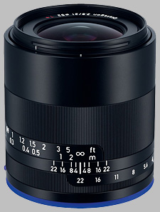 image of the Zeiss 21mm f/2.8 Loxia 2.8/21 lens