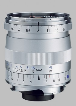 image of the Carl Zeiss 21mm f/2.8 Biogon T* 2.8/21 ZM lens