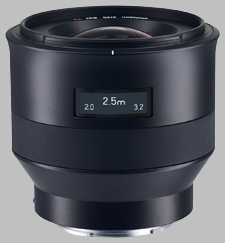 image of the Zeiss 25mm f/2 Batis 2/25 lens
