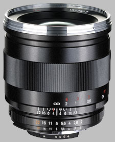 image of the Carl Zeiss 25mm f/2 Distagon T* 2/25 lens