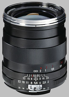 image of the Carl Zeiss 28mm f/2 Distagon T* 2/28 lens