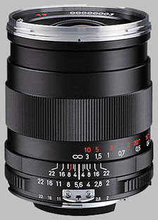image of the Carl Zeiss 35mm f/2 Distagon T* 2/35 lens