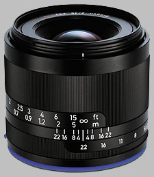 image of the Zeiss 35mm f/2 Loxia 2/35 lens