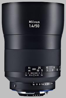 image of the Zeiss 50mm f/1.4 Milvus 1.4/50 lens