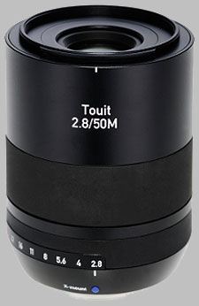 image of the Zeiss 50mm f/2.8 Macro Touit 2.8/50M lens