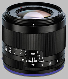image of the Zeiss 50mm f/2 Loxia 2/50 lens