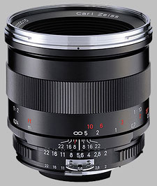 image of the Carl Zeiss 50mm f/2 Makro-Planar T* 2/50 lens