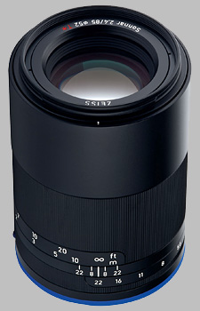 image of the Zeiss 85mm f/2.4 Loxia 2.4/85 lens