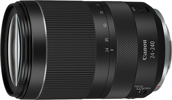 Canon RF 24-240mm F4-6.3 IS USM Review -- Product Image
