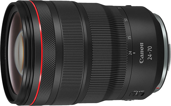 Canon RF 24-70mm f/2.8 L IS USM Review -- Product Image