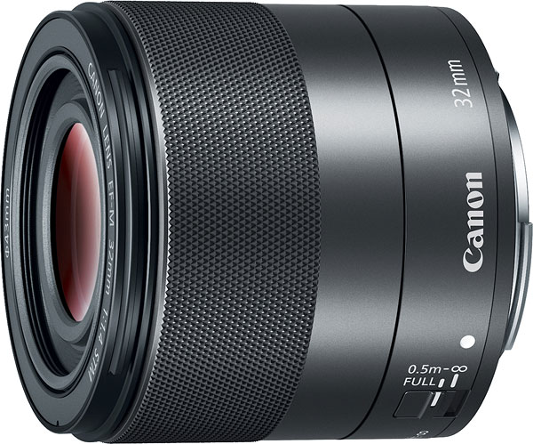 Canon EF-M 32mm f/1.4 STM Review -- Product Image