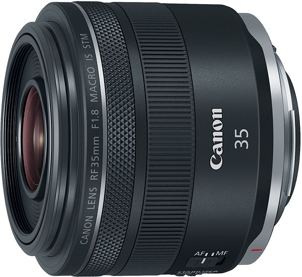 Canon RF 35mm F1.8 Macro IS STM Review -- Product Image