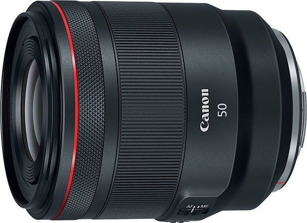 Canon RF 50mm F1.2 L USM Review -- Product Image