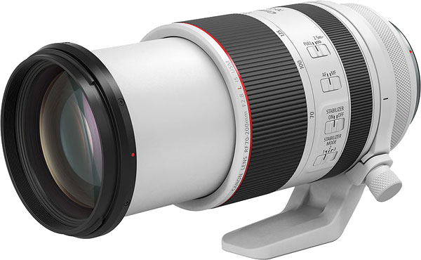 Canon RF 70-200mm f/2.8L IS USM Lens Review -- Product Image