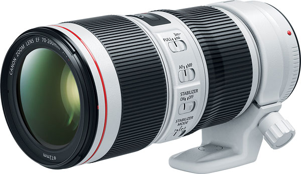 Image of Canon EF 70-200mm f/4L IS II USM Lens