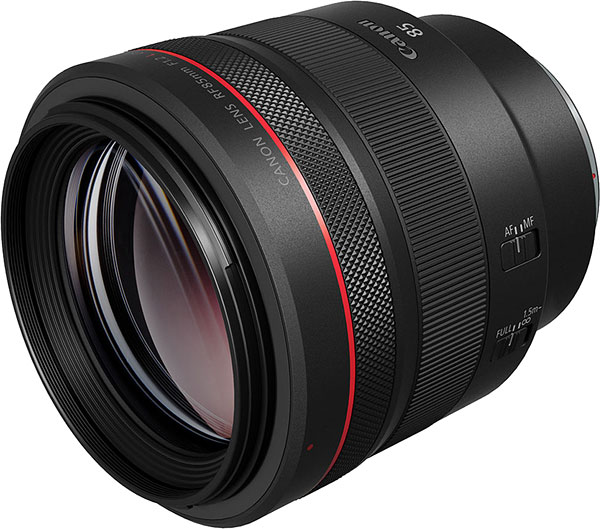 Canon RF 85mm f/1.2L USM Review -- Product Image