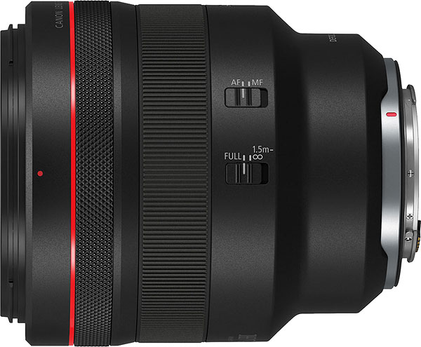 Canon RF 85mm f/1.2L USM DS Review -- Product Image