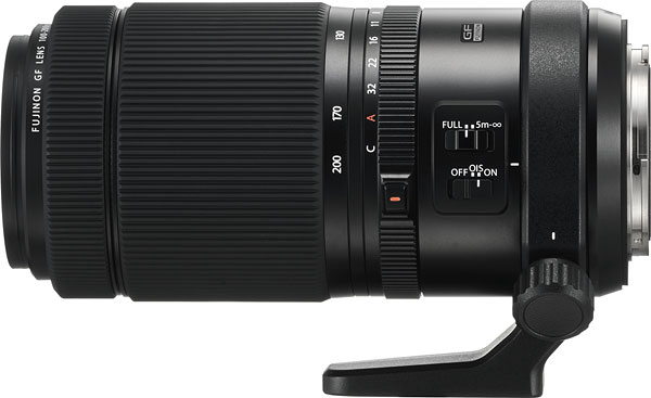 FUJINON GF 100-200mm F5.6 R LM OIS WR Review -- Product Image