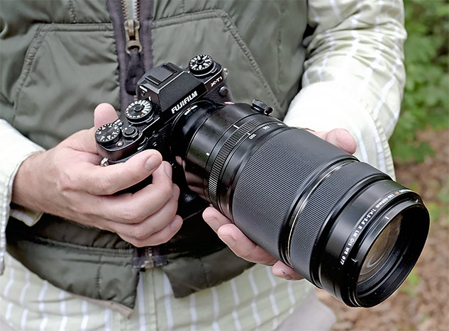 Fuji 100-400mm Review - product shot