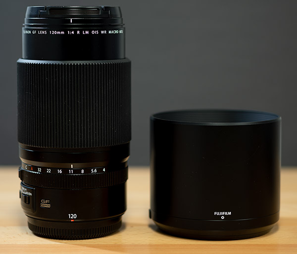 Fujinon GF 120mm f/4 R LM OIS WR Macro Review -- Product Image