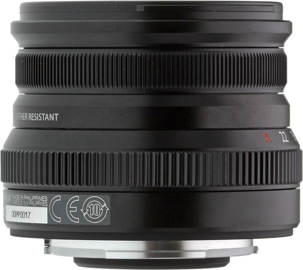 FUJINON XF16mm F2.8 R WR Review -- Product Image
