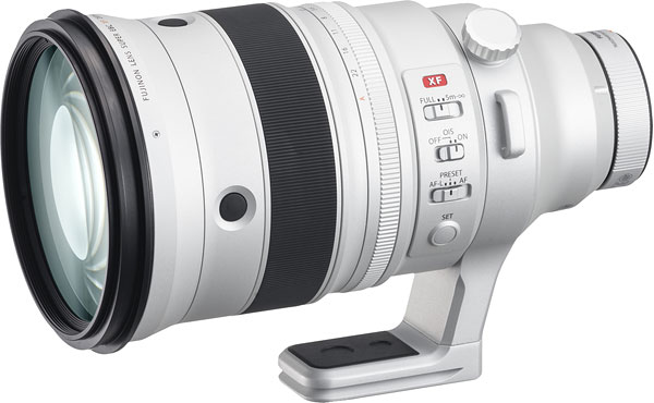 FUJINON XF200mmF2 R LM OIS WR Telephoto Lens with XF1.4X TC F2 WR Teleconverter Product Image