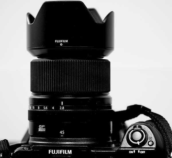 Fujinon GF 45mm f/2.8 R WR Review -- Product Image