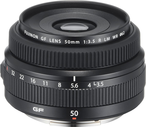Fujinon GF 50mm f/3.5 R LM WR Review -- Product Image