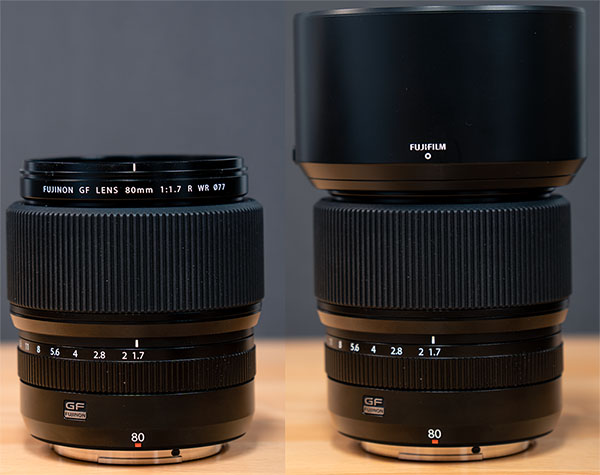 Fujinon GF 80mm f/1.7 R WR Review: Field Test -- Product Image
