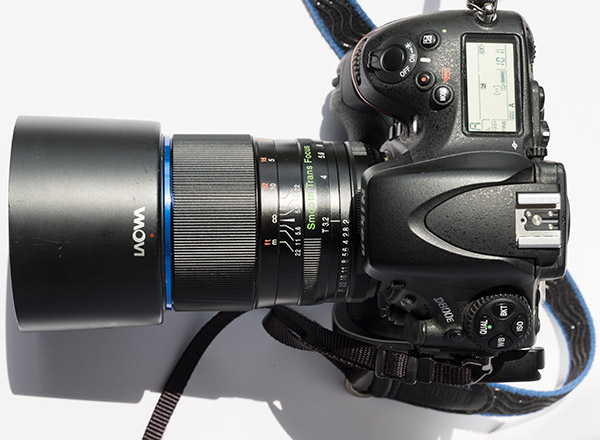 Laowa 105mm f/2 STF Review -- Product Image