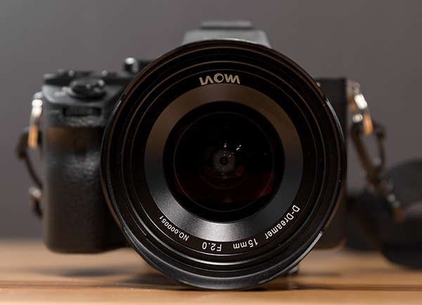 Laowa 15mm f/2 FE Zero-D Review -- Product Image