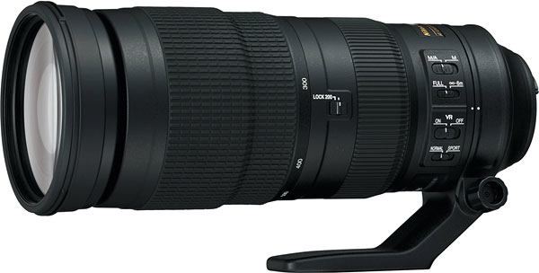 Nikon 200-500mm f/5.6 E VR Review -- Product Image