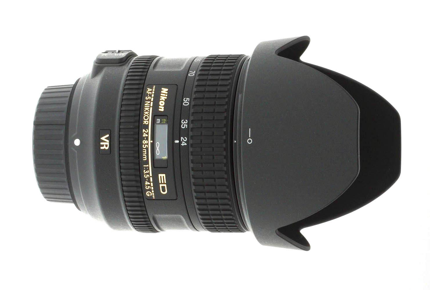 Nikon 24 85mm F 35 45g Ed Vr Af S Nikkor Review 105mm 28g If Dx Fisheye Product Photos