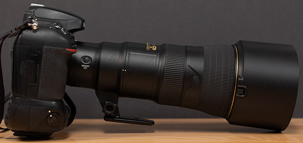 Nikon 500mm f/5.6E PF ED AF-S VR Nikkor Review -- Product Image