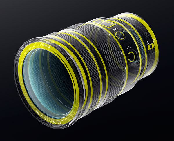 NIKKOR Z 24-70mm f/2.8 S Review -- Product Image
