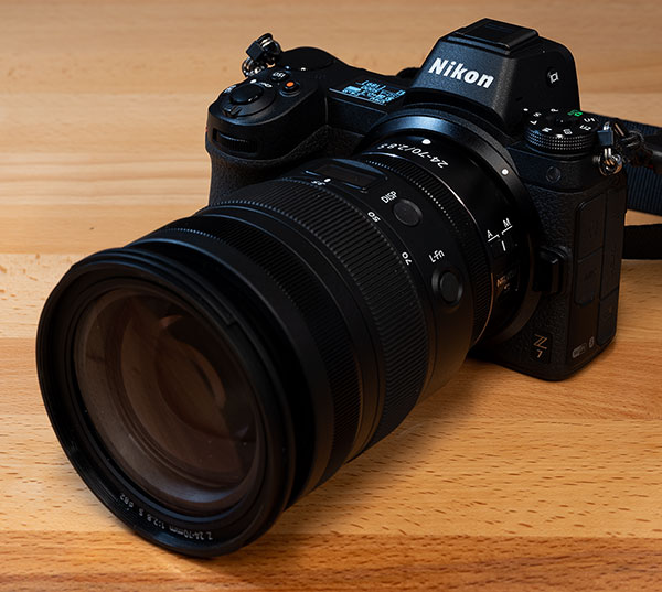 Nikon Z 24-70mm f/2.8 S Nikkor Review: Field Test -- Product Image